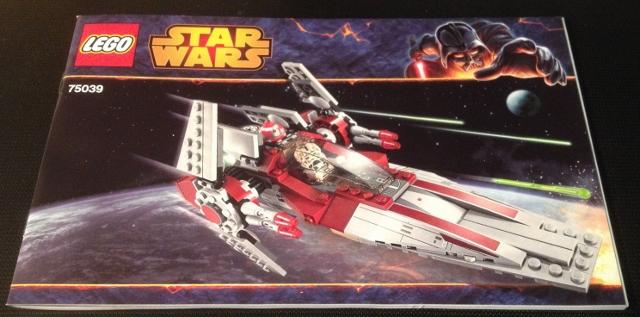 Bricklink Instruction 75039 1 Lego V Wing Starfighter Star Wars