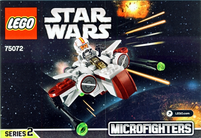 Bricklink Instruction 75072 1 Lego Arc 170 Starfighter Star
