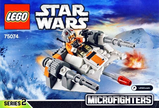 Bricklink Instruction 75074 1 Lego Snowspeeder Star Warsstar