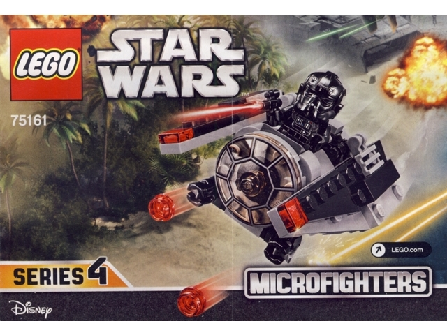 Bricklink Instruction 75161 1 Lego Tie Striker Microfighter