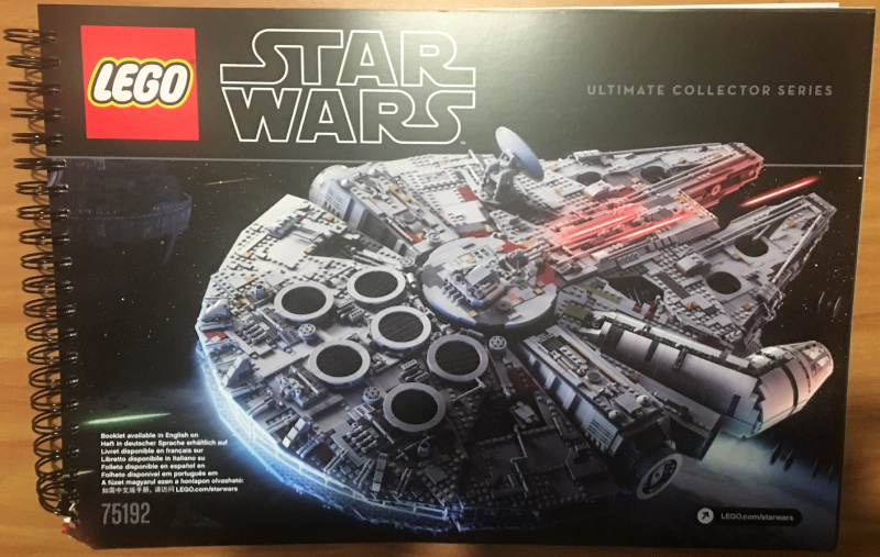 BrickLink - Instruction 75192-1 : Lego Millennium Falcon - UCS (2nd ...