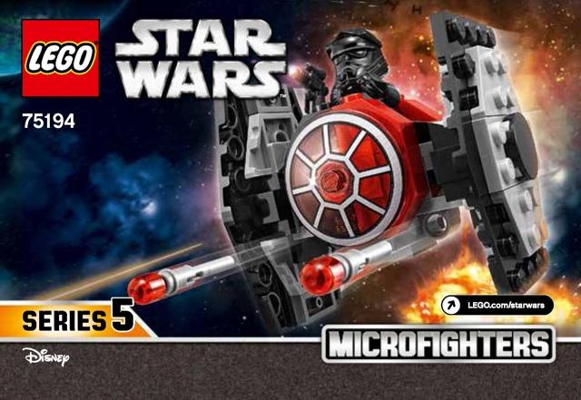 Bricklink Instruction 75194 1 Lego First Order Tie Fighter