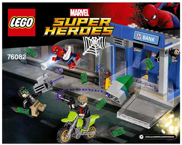 BrickLink - Instruction 76082-1 : Lego ATM Heist Battle