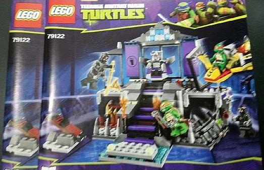 Bricklink Instruction 79122 1 Lego Shredders Lair Rescue