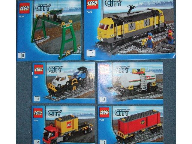 Bricklink Instruction 7939 1 Lego Cargo Train Trainrc Train