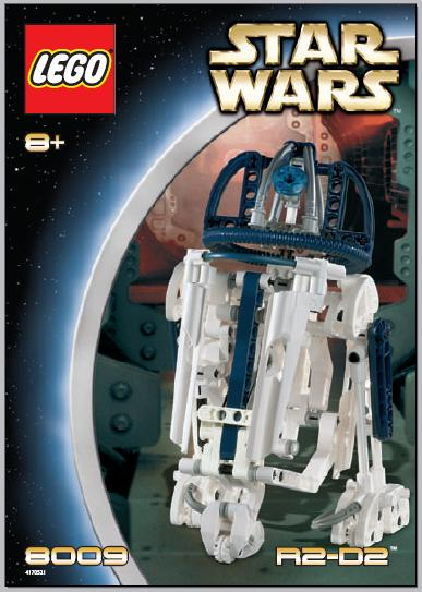 Bricklink Instruction 8009 1 Lego R2 D2 Technicstar Warsstar