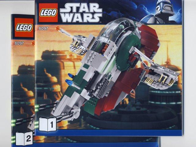 Bricklink Instruction 8097 1 Lego Slave I 3rd Edition Star