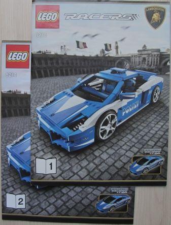 Bricklink Instruction 8214 1 Lego Lamborghini Gallardo Lp 560 4