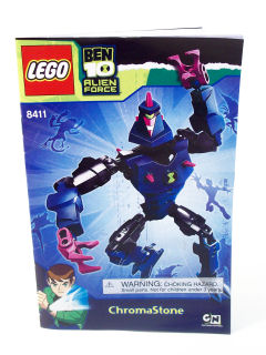 bricklink instruction 8411 1 lego chromastone ben 10