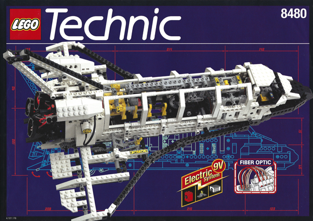 Bricklink Instruction 8480 1 Lego Space Shuttle Technicmodel