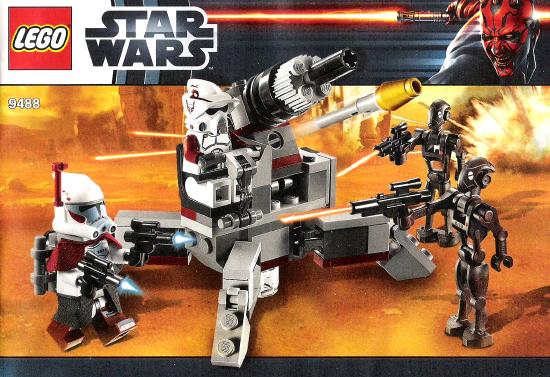 Bricklink Instruction 9488 1 Lego Elite Clone Trooper Commando