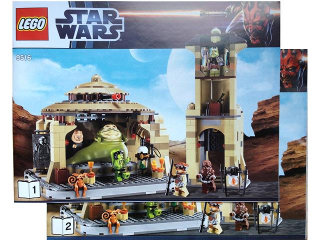 Bricklink Instruction 9516 1 Lego Jabbas Palace Star Warsstar