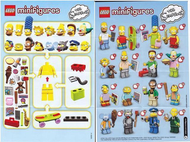 Lego® Figur Die Simpsons colsim-4 Lisa Simpson Minifigur Serie 1