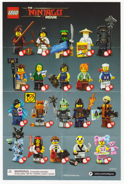 Lego Ninjago Movie Series Shark Army OCTOPUS FIGURINE