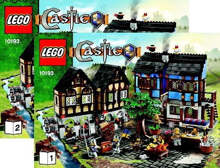 BrickLink - Set 10193-1 : Lego Medieval Market Village [Castle ...