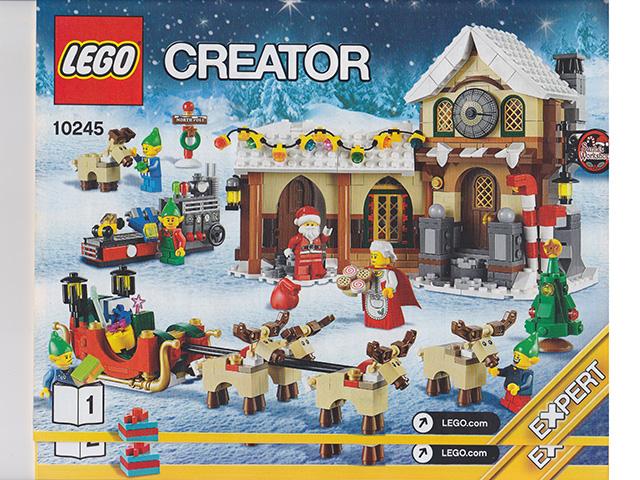 BrickLink - Set 10245-1 : Lego Santa's Workshop [Holiday:Christmas ...