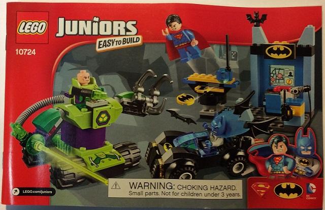 Bricklink Instruction 10724 1 Lego Batman Superman Vs Lex