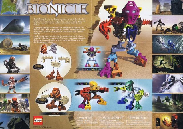 LEGO Bionicle Tohunga 1388 Huki no disk