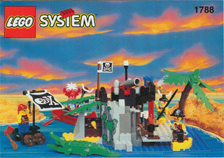 BrickLink - Set 1788-1 : Lego Treasure Chest [Pirates:Pirates I] -  BrickLink Reference Catalog