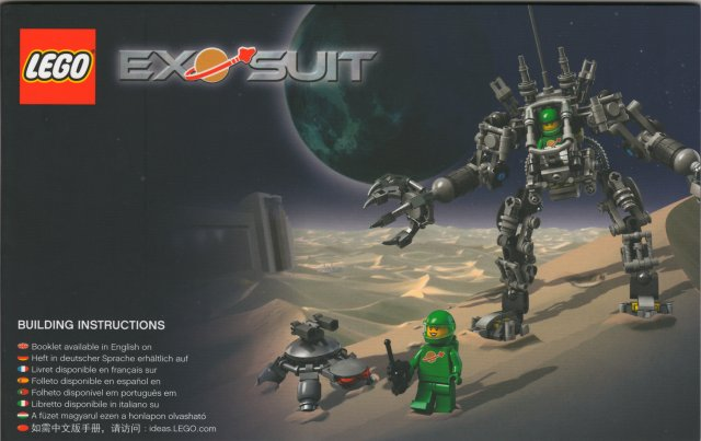 Bricklink Set 21109 1 Lego Exo Suit Lego Ideas Cuusoo