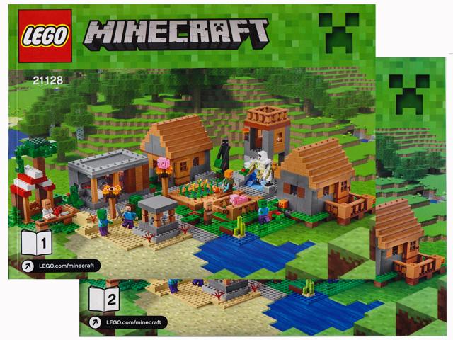 Bricklink Set 21128 1 Lego The Village Minecraft Bricklink