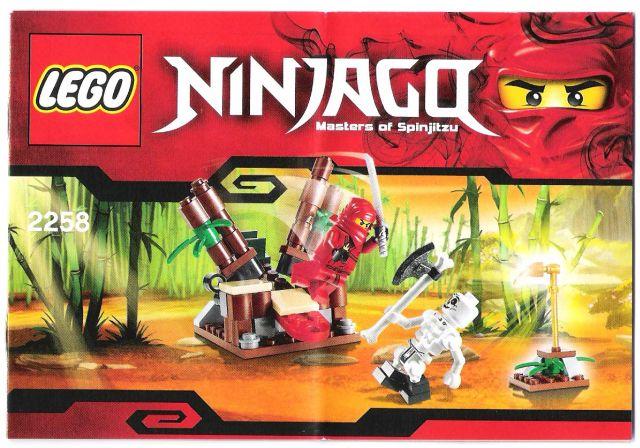 Bricklink Set 2258 1 Lego Ninja Ambush Ninjagothe Golden