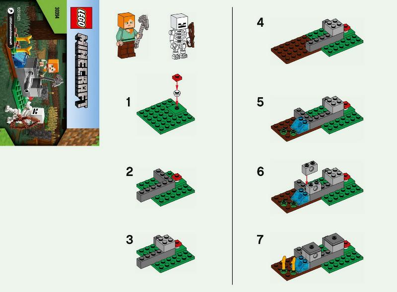 LEGO 30394 The Skeleton Defence Polybag Minecraft
