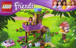 Bricklink set lego olivia s tree house friends