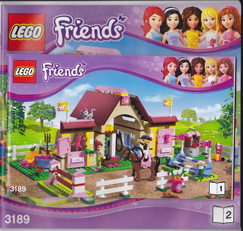 Bricklink Set 3189 1 Lego Heartlake Stables Friends