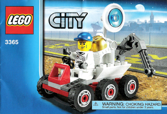BrickLink - Set 3365-1 : Lego Space Moon Buggy [Town:City:Space Port] -  BrickLink Reference Catalog