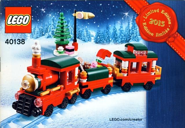 BrickLink - Set 40138-1 : Lego Christmas Train - Limited Edition ...