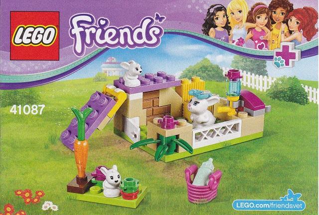 Bricklink Set 41087 1 Lego Bunny Babies Friends Bricklink