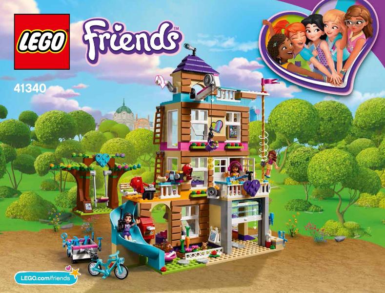 Bricklink Set 41340 1 Lego Friendship House Friends