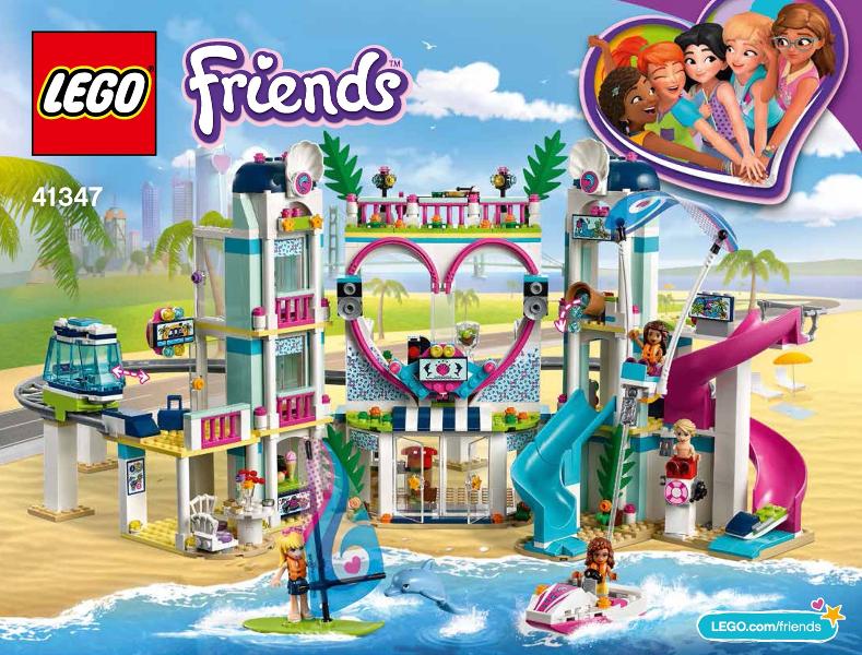 Bricklink Set 41347 1 Lego Heartlake City Resort Friends