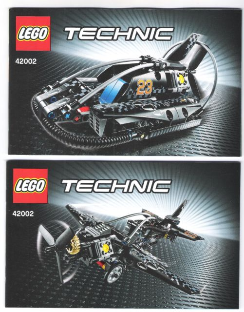 BrickLink - Set 42002-1 : Lego Hovercraft [Technic:Model:Harbor