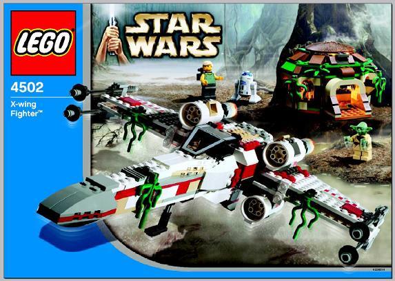 LEGO 4502-2 X-Wing Fighter (Dagobah), Original Trilogy Edition Box ...