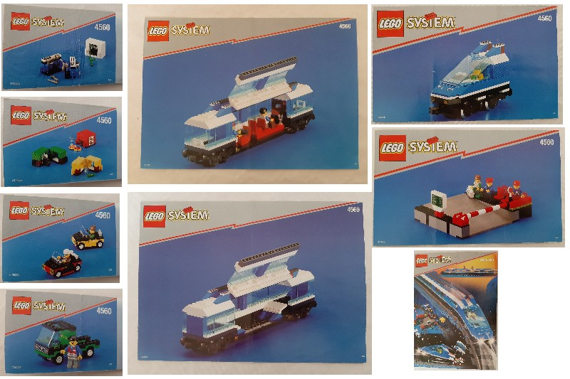 LEGO® Bauanleitung Instruction Nr 4560 4560 // 4561