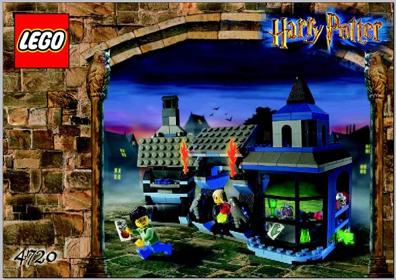 for LEGO 4720 Knockturn Alley INSTRUCTION MANUAL ONLY Instructions