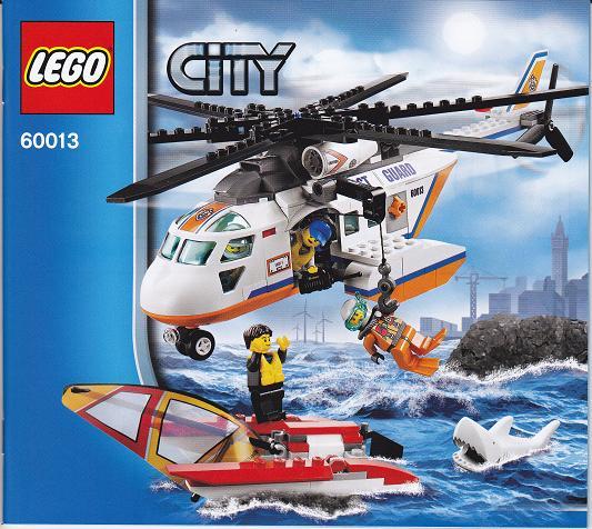 Bricklink Set 60013 1 Lego Coast Guard Helicopter Towncity