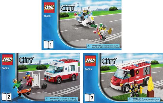 Bricklink Set 60023 1 Lego City Starter Set Towncity
