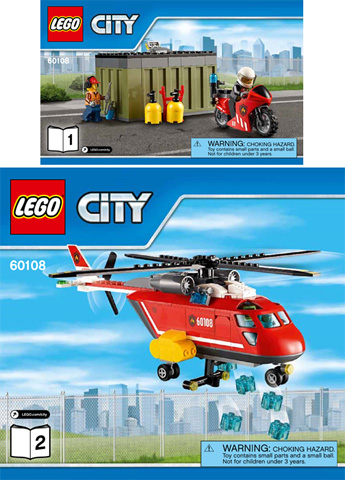 BrickLink - Set 60108-1 : Lego Fire Response Unit [Town:City:Fire] -  BrickLink Reference Catalog