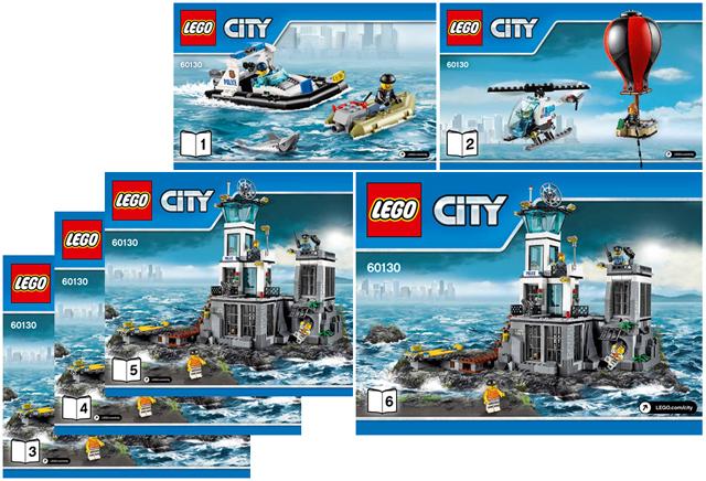 BrickLink - Set 60130-1 : Lego Prison Island [Town:City:Police] - BrickLink  Reference Catalog