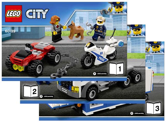 BrickLink - Set 60139-1 : Lego Mobile Command Center [Town:City:Police] -  BrickLink Reference Catalog