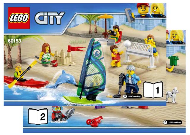 Beachgoer senior CTY762 60153 Lego