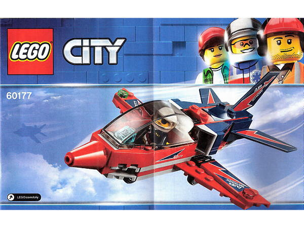 LEGO City 60177 LE JET DE VOLTIGE CITY NEUF