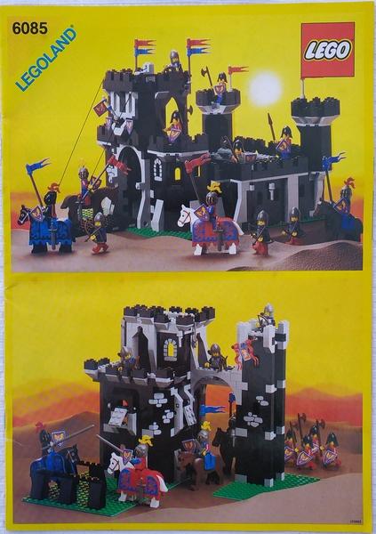 Bricklink Set 6085 1 Lego Black Monarchs Castle Castleblack