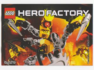 6229 NEW /& Factory Sealed LEGO Hero Factory XT4