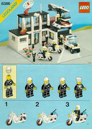 Bricklink Set 6386 1 Lego Police Command Base Townclassic Town