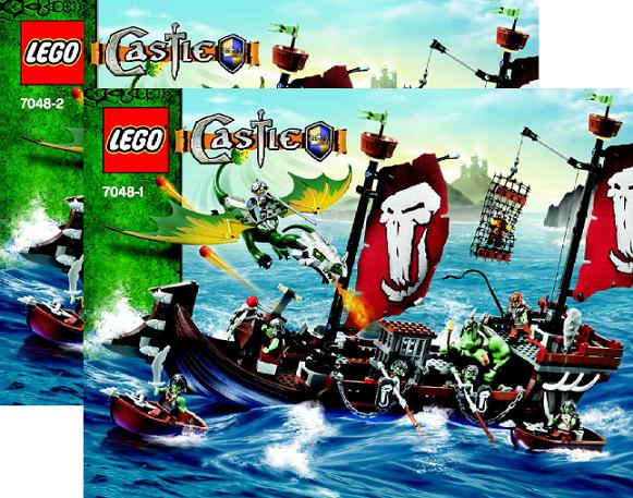 BrickLink - Set 7048-1 : Lego Troll Warship [Castle:Fantasy Era] -  BrickLink Reference Catalog