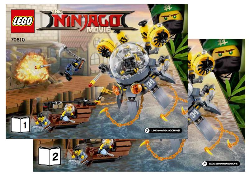 Bricklink Set 70610 1 Lego Flying Jelly Sub The Lego Ninjago
